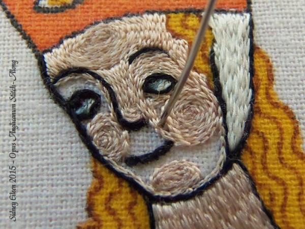 Opus Anglicanum Stitch Along - 152, by Sidney Eileen