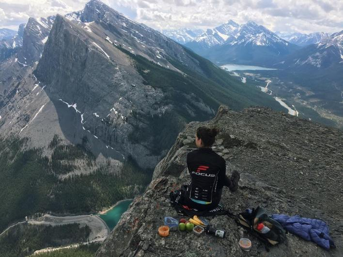 Way above Canmore, Alberta