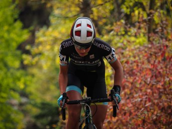 Enjoying the start of the Cyclocross season with beautiful autumn conditions.
