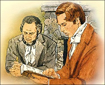 Image result for Joseph smith and sidney Rigdon