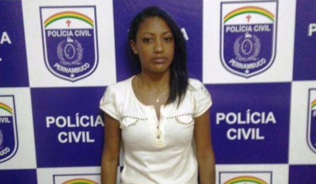 Joyce Soares foi presa no estado de Pernambuco