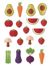 蔬果數字01