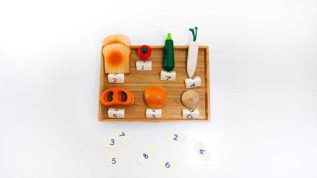 賣菜學數字