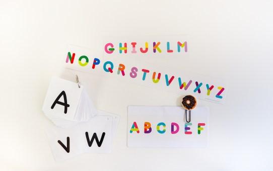 英文字母字卡檔案免費分享