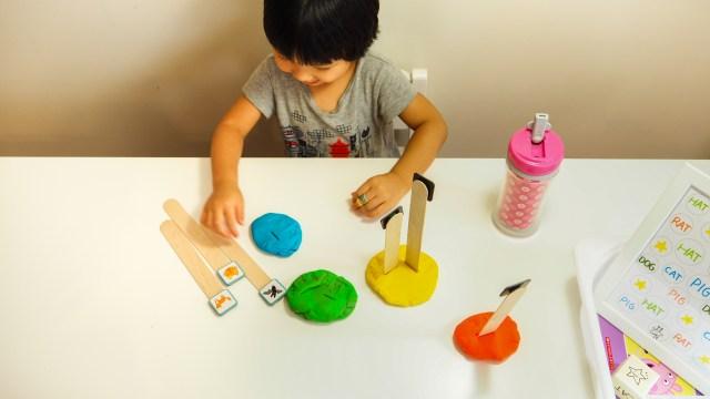 冰棒棍與黏土小遊戲