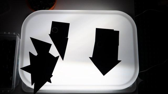 黑紙、簡易燈箱