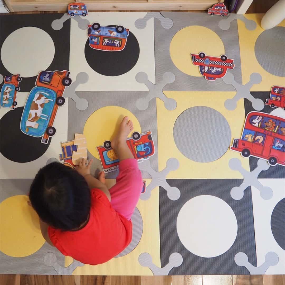 (分享) 給一歲寶寶的大拼圖 Big Puzzles for Toddlers