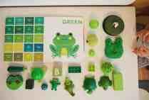 認識色票顏色小遊戲-綠色
