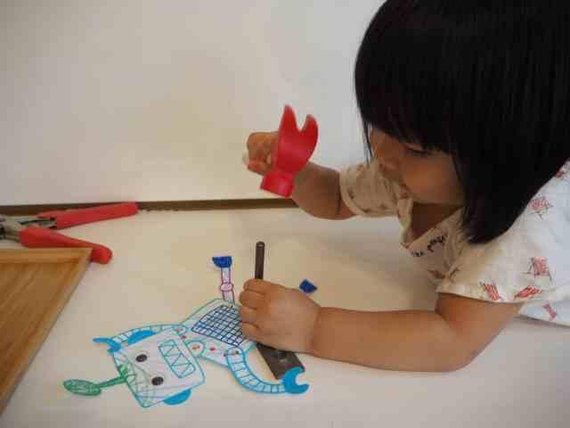 DIY 自製玩具 紙機器人