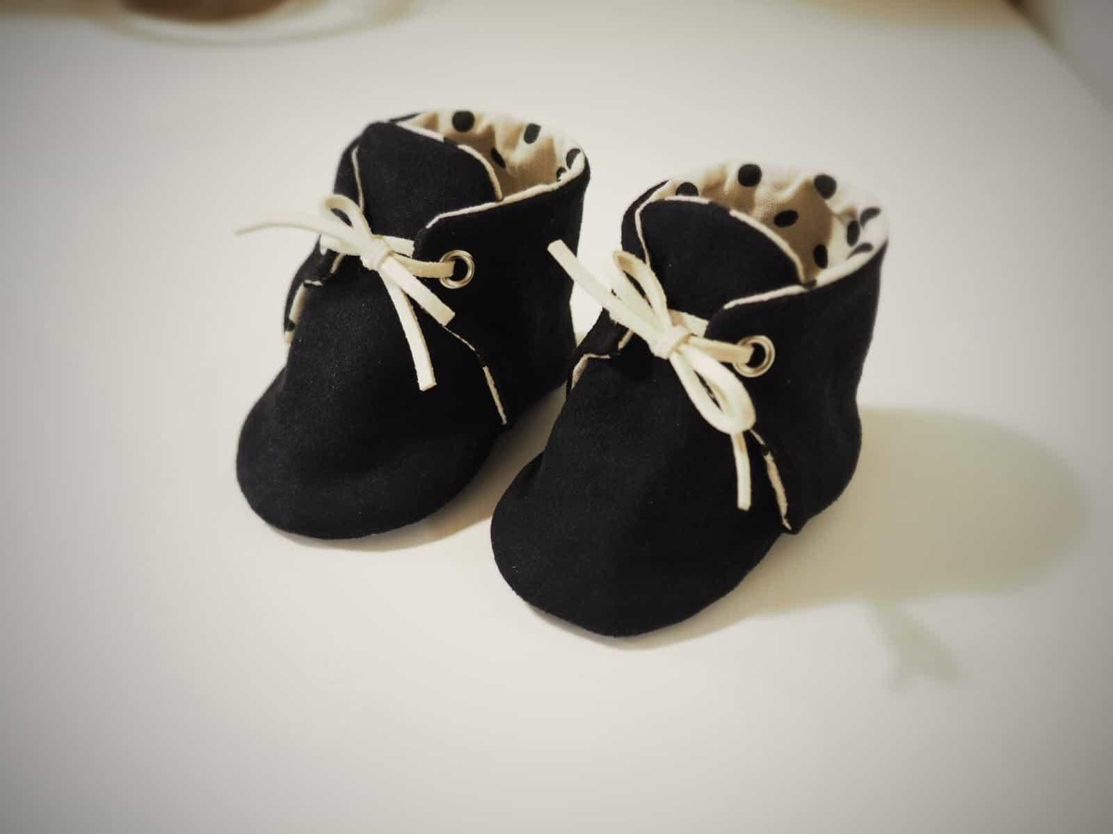手作寶寶靴子-嬰兒鞋 (版型分享) Handmade Baby Boots (Pattern)