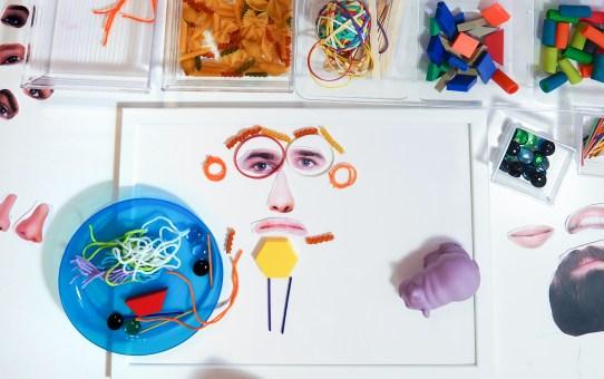 DIY 搞笑的臉–小零件遊戲