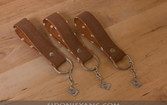 可水洗牛皮紙鑰匙圈 | Washable Kraft Paper Keychains