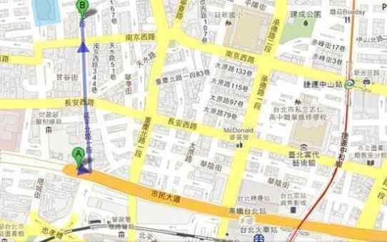 台北 永樂市場地圖