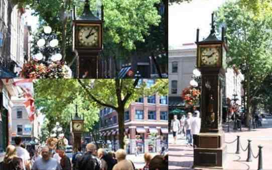 Gastown-Steam Clock蒸汽鐘