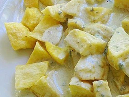 Patatas al cabrales