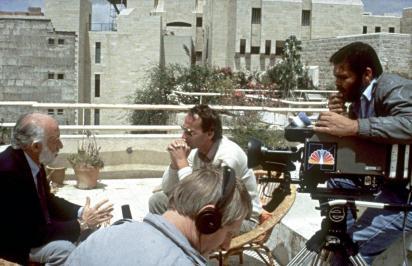 Theo Siebenberg is interviewed by Martin Fletcher of NBC.