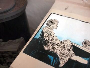 Detail of Die Beine von Dolores 2012