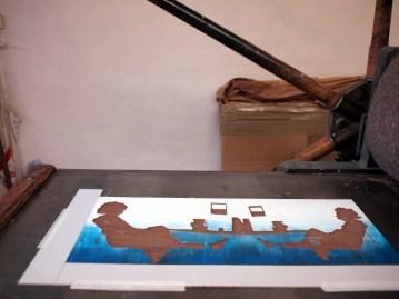 printing die beine von dolores