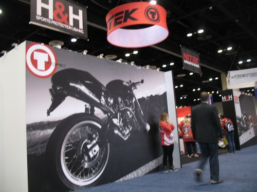 Professional Display Graphics Were Seen Throughout Event