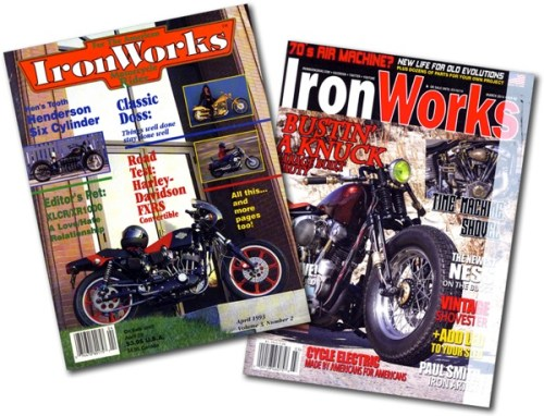 Ironworks first last issues