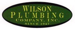 wilson plumbing logo original