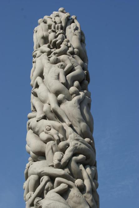 Monolith(Granitsäule aus 121 menschlichen Figuren) Vigeland
