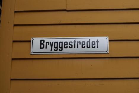 Bryggestredet Straßenschild