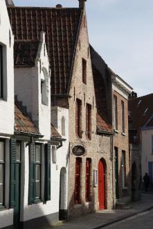 Häuser Brügge Belgien