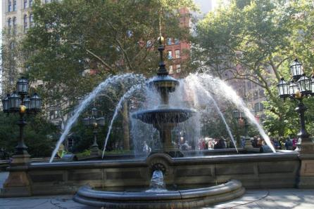 City Hall Park New York