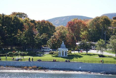 Argamont Park mit einem Stück Shore Path