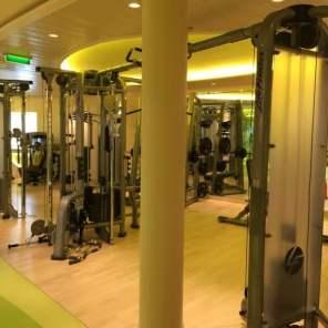 Body & Soul Sport Fitness AIDAprima Ausstattung Einrichtung Training Trainingsturm