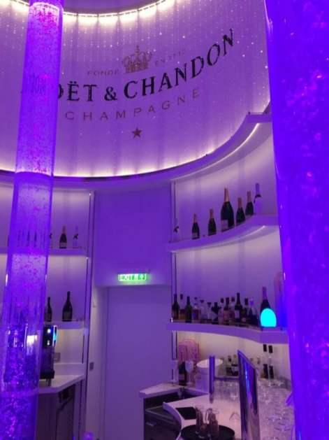 Spray Bar by Moet and Chandon Aida