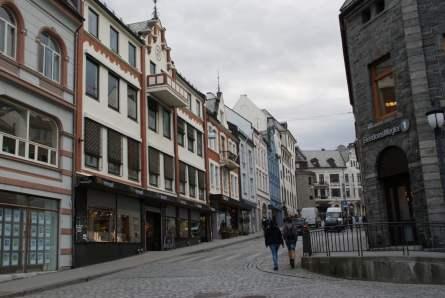 Storgata Alesund Häuser
