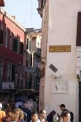 Wegweiser Venedig