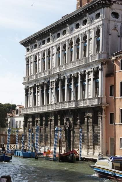 Palast Ca'Rezzonico, heute ein Museum