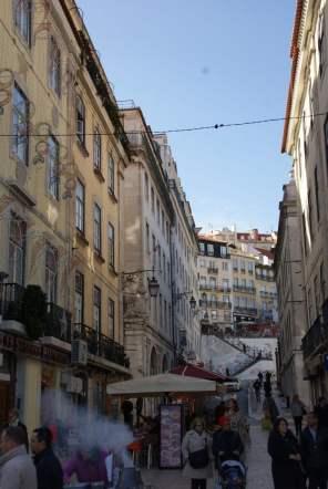 Calcada do Carmo Lissabon