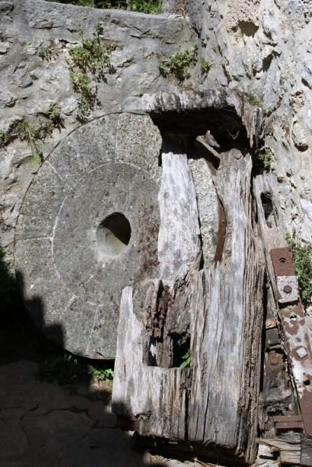 Mühlstein Alte Mühle Nationalpark Krka Kroatien