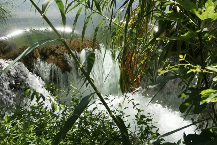 Wasserfall Nationalpark Krka Kroatien