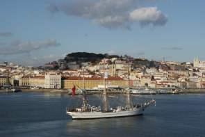 Alfama Altstadt von Lissabon