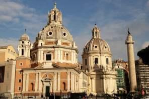 Santa Maria di Loreto mit Trajanssäule