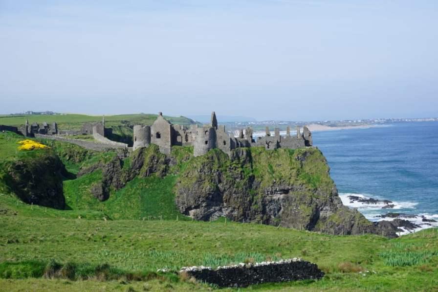 Dunluce Castle Belfast