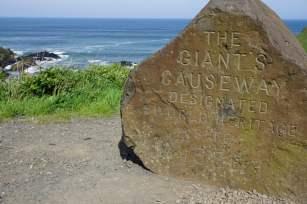 Startpunkt Giant's Causeway