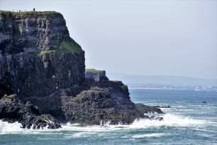 Nordirische Küste Meer Brandung