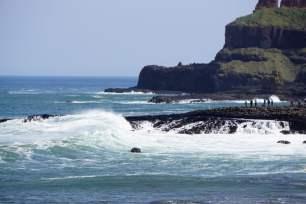 Naturgewalt Atlantik Nordirland