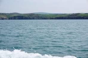 Küste von Goodwick Wales