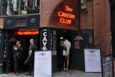 The Cavern Club Mathew Street Liverpool