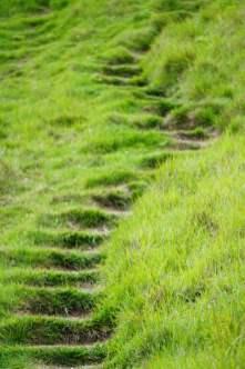 Treppen Dover Kreidefelsen