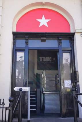 Titanic Experience interaktives Museum Cobh Eingang