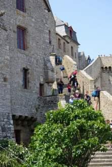 Stadtmauer Mont-Saint-Michel