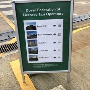 Dover Hafen Taxi Sehenswürdigkeiten